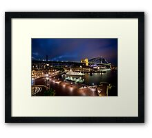 Campbell's Cove Sydney Harbour Framed Print
