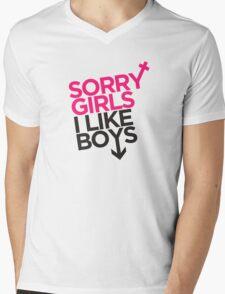 """""""Sorry Girls, I Like Boys"""" Tee Mens V-Neck T-Shirt"""