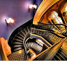 "Watch The FIrst Step - ""The Grand Staircase"" -Queen Victoria Building - The HDR Experience by Philip Johnson"