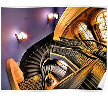 """Watch The FIrst Step - """"The Grand Staircase"""" -Queen Victoria Building - The HDR Experience Poster"""