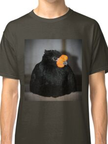 Black And Orange Classic T-Shirt