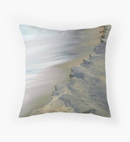 Expressions Of Lake Michigan Throw Pillow