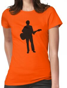 Musician guitar Womens Fitted T-Shirt