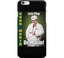 SexyMario MEME - Lets Play Dr. Mario! iPhone Case/Skin
