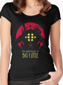 The Adventures of Big & Little Women's Fitted Scoop T-Shirt