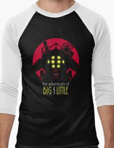 The Adventures of Big & Little Men's Baseball ¾ T-Shirt