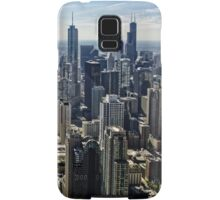 A Misty Morning in Chicago, Illinois, USA Samsung Galaxy Case/Skin