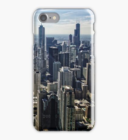 A Misty Morning in Chicago, Illinois, USA iPhone Case/Skin