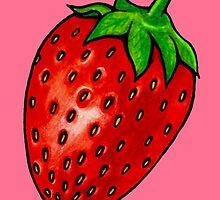 Strawberry by Octavio Velazquez