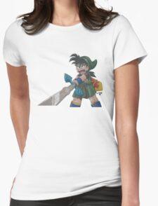 Gohan Link Womens Fitted T-Shirt