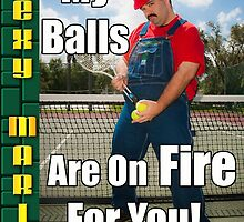 SexyMario MEME - My Balls Are On Fire For You 1 by SexyMario