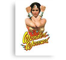 Wonder Woman Activate! Canvas Print