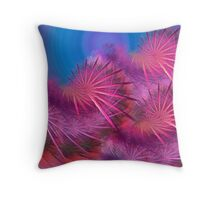 colorful motion Throw Pillow