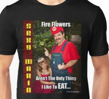 SexyMario MEME - Fire Flowers Aren't The Only Thing I Like To Eat! Unisex T-Shirt