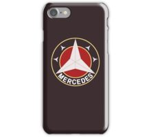 Mercedes Retro 2 iPhone Case/Skin