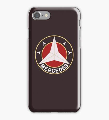 Mercedes Retro 2 iPhone Case/Skin