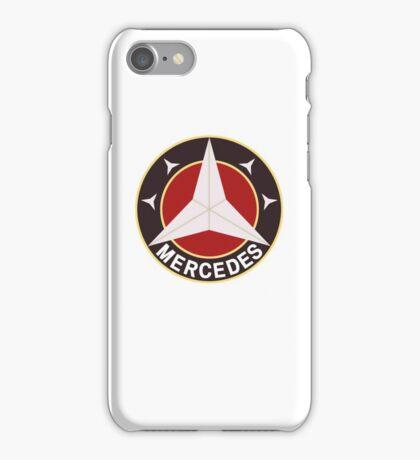 Mercedes Retro iPhone Case/Skin