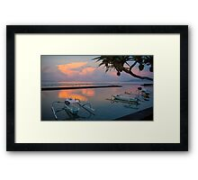 Sunrise Next Door - By Paul Campbell Photography Framed Print