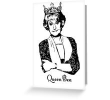 Queen Bea (Style Light) Greeting Card