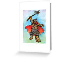 Balfurr the Northbear Greeting Card
