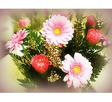 Pink Bouquet - a Gift Photographic Print