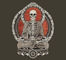 Skeleton Buddha by GrizzlyGaz