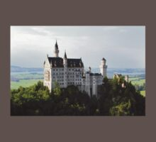 Neuschwanstein Castle One Piece - Short Sleeve