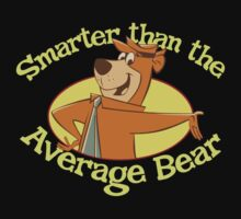 Yogi Bear Smarter Than The Average Bear Kids Tee