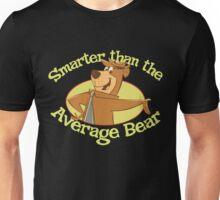 Yogi Bear Smarter Than The Average Bear Unisex T-Shirt