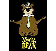 Yogi Bear Yoga Photographic Print