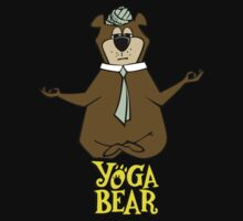 Yogi Bear Yoga by Antess