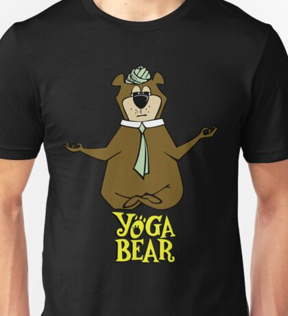 Yogi Bear Yoga Unisex T-Shirt