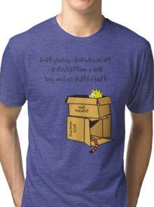 A Boy and His Tiger Tri-blend T-Shirt