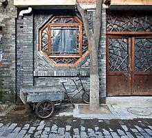 Picturesque chinese facade by dominiquelandau