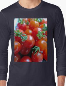 Cherry Tomatoes Long Sleeve T-Shirt