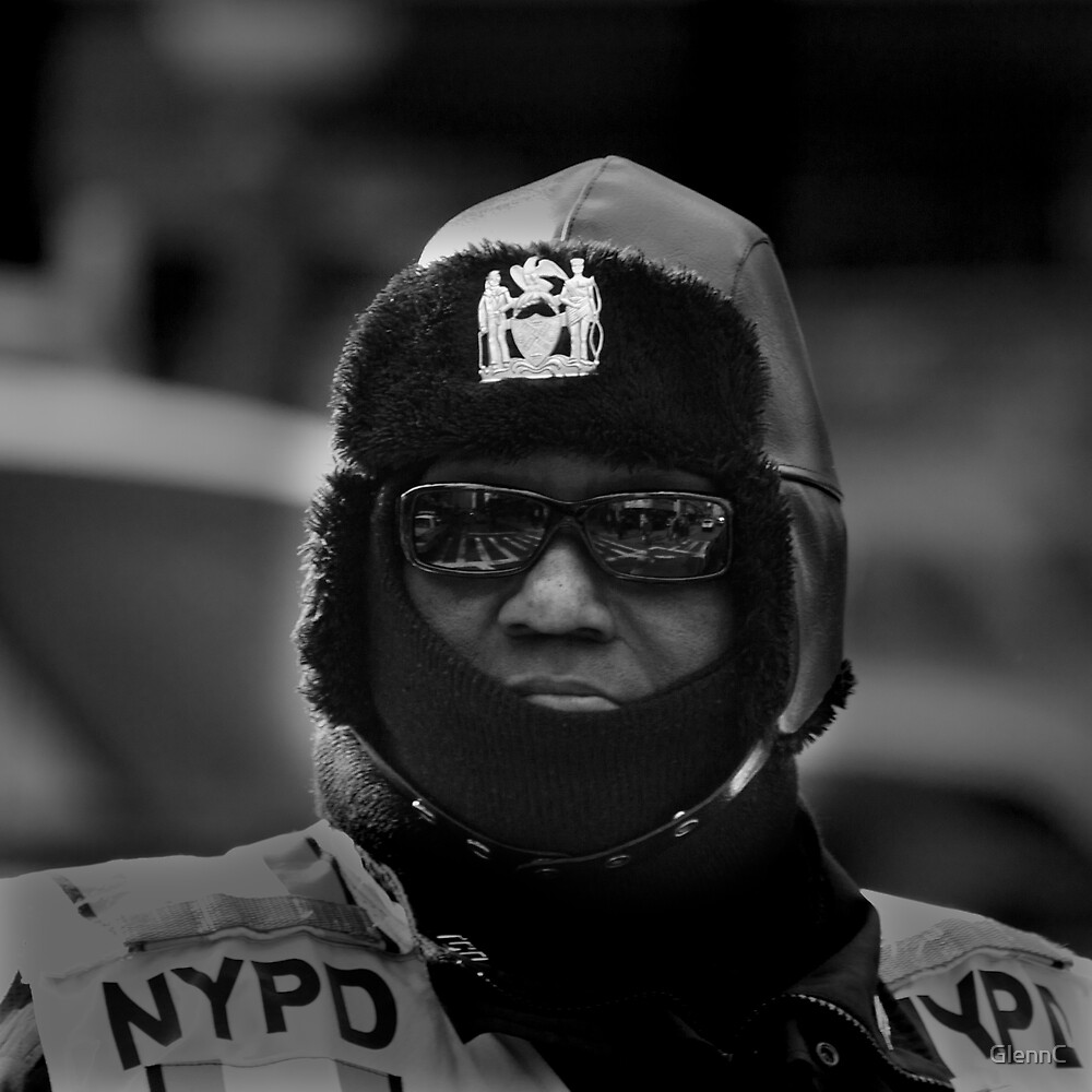 NYPD looking at you by GlennC