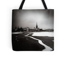 Just Follow The Line Tote Bag