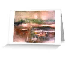 Tokiko Anderson - River Town Greeting Card