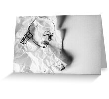 Crumpled Greeting Card