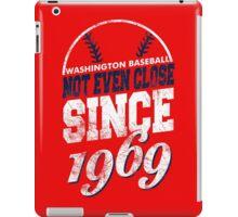 Washington Baseball iPad Case/Skin