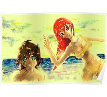 anime girlds Poster