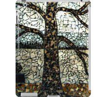 Tree Mosaic On Store Building's Outside Wall, Woodbridge NJ USA iPad Case/Skin
