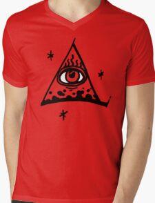 illumination Mens V-Neck T-Shirt