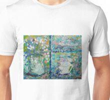 Vase and Demitasse Impressionist Painting Unisex T-Shirt