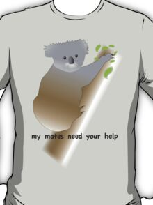 My mates need your help!!!! White Tee T-Shirt