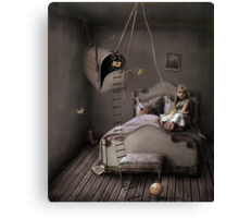 Trap of fairy tales Canvas Print