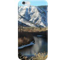 Waterton Canyon aka South Platte Canyon iPhone Case/Skin