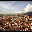 Storm clouds over Florence by Shaun Whiteman