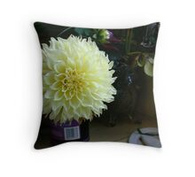 Still Life with Flower Throw Pillow