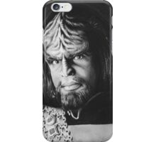 worf iPhone Case/Skin